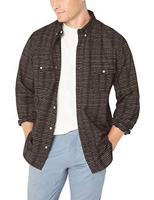 Reyn Spooner Men's Coco DOTS L/S Flap Pocket