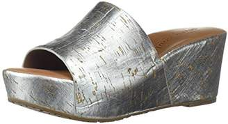 Gentle Souls by Kenneth Cole Women's Forella Platform Slip On Sandal Sandal