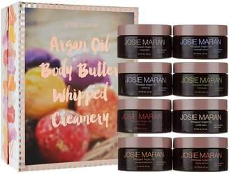 Josie Maran 8pc Whipped Argan Oil Body Butter Creamery