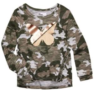 Epic Threads Toddler Girls Camo-Print Butterfly Top, Created for Macy's