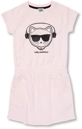 Karl Lagerfeld Paris Lagerfeld Graphic T-Shirt Dress