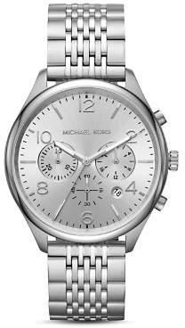 Michael Kors Merrick Stainless Steel Chronograph, 42mm