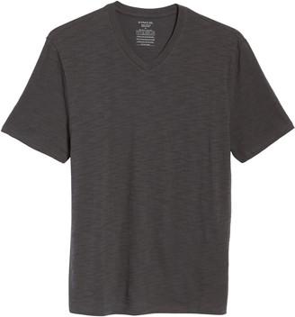 Vince Slub Slim Fit V-Neck T-Shirt