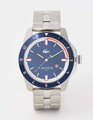 Lacoste 2010701 men's Durban stainless steel watch with blue face