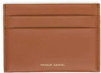Mansur Gavriel Calf Credit Card Holder - Saddle