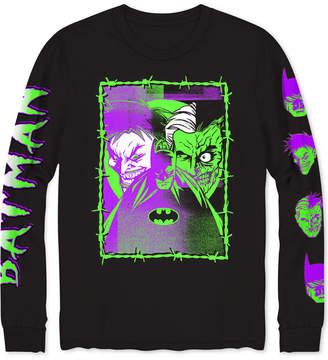 Hybrid Dc Comics Batman & Joker Distress Men's Graphic T-Shirt