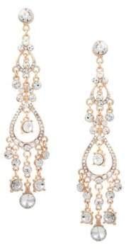 GUESS Crystal Chandelier Earrings