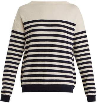 MiH Jeans Margot striped wool sweater