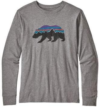 Patagonia Boys' Long-Sleeved Graphic Organic T-Shirt