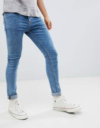New Look Skinny Jeans In Light Wash