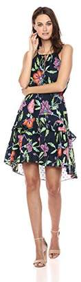 Taylor Dresses Women's Printed Cotton Summer Frock