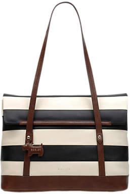 2495d3d180a3 Radley Babington Stripe East West Leather Shoulder Bag