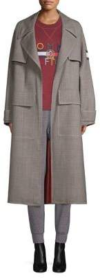 His For Her Wool-Blend Trench Coat