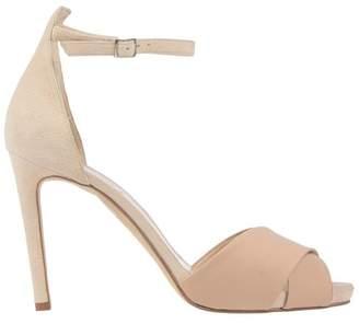 39237517f7 Pale Pink Sandal Heels - ShopStyle UK