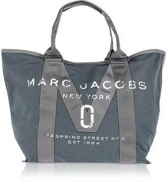Marc Jacobs New Logo Graphite Cotton Tote