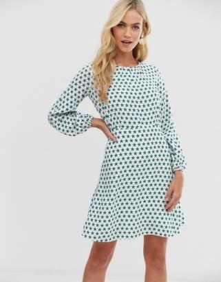 6b80da9b45d3 Closet London Closet long sleeve polka dot skater dress
