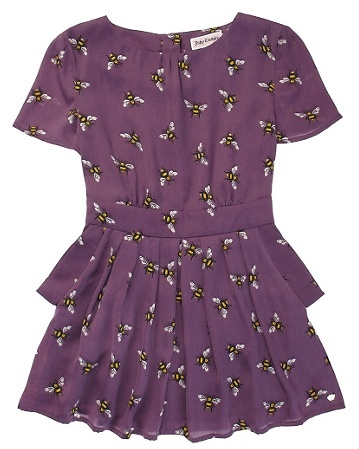 Bumble Bee Print Dress