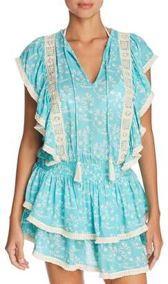 Cool Change Coolchange Quinn Ruffle Tunic Swim Cover-Up