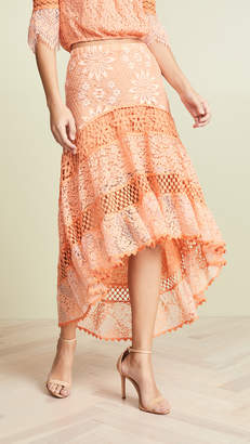 Temptation Positano Lamu High Low Skirt