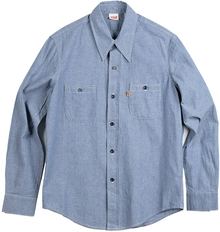 Levi's CLOTHING Men's 1960's Chambray Button Down Shirt