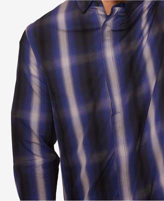 Armani Exchange Men Phillips Plaid Shirt