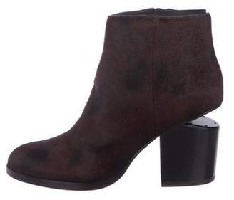 Alexander Wang Ponyhair Ankle Boots