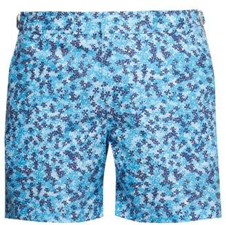 1f9982fa5e Orlebar Brown Bulldog Ninfea Print Swim Shorts - Mens - Blue Multi