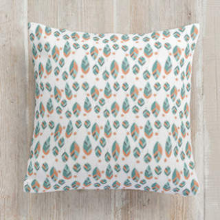 Geo Botanica Self-Launch Square Pillows
