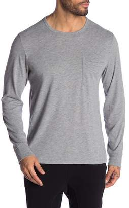 JASON SCOTT Yale Crew Neck Long Sleeve Tee