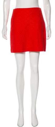 Lanvin 2015 Lace Mini Skirt