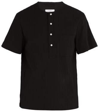Saturdays NYC Dimitri Gathered Shirt - Mens - Black