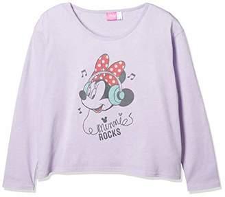 Disney (ディズニー) - [ディズニー] ミニープリントナガソデTシャツ 332221063 パープル 日本 160 (日本サイズ160 相当)