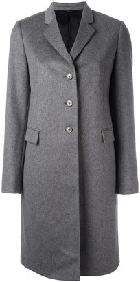 Paul Smith classic single-breasted coat $950 thestylecure.com