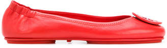 Tory Burch logo ballerina shoes