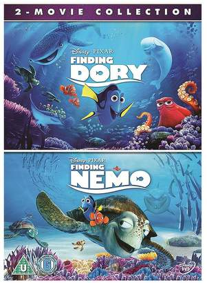 FINDING DORY & Finding Nemo Double Pack DVD