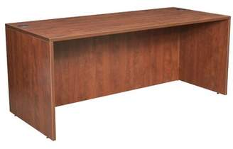 "Latitude Run Linh Desk Latitude Run Color: Cherry, Size: 29"" H x 66"" W x 30"" D"