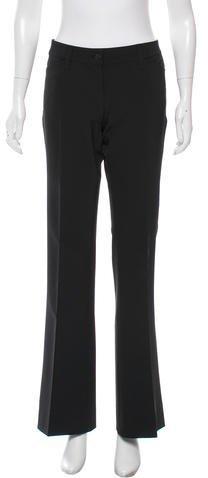 Prada Tailored Wide-Leg Pants