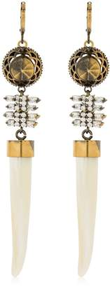 Iosselliani Horn Pendant Earrings
