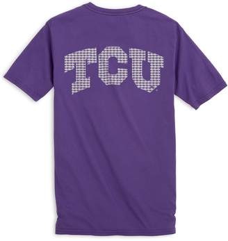 Southern Tide Skipjack Fill T-Shirt - Texas Christian University