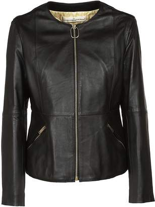 Golden Goose Zipped Leather Jacket