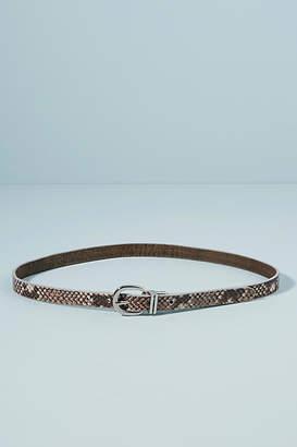 Brave Leather Niesha Embossed Skinny Belt