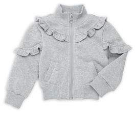 Urban Republic Girl's Ruffled Fleece Jacket