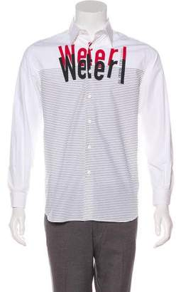 Gianfranco Ferre Printed Button-Up Shirt
