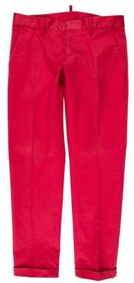 DSQUARED2 Flat Front Casual Pants