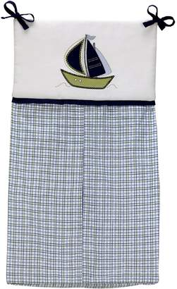 Nautica Little Bedding by NoJo Dreamland Teddy Uni Crib Bumper (Discontinued by Manufacturer)