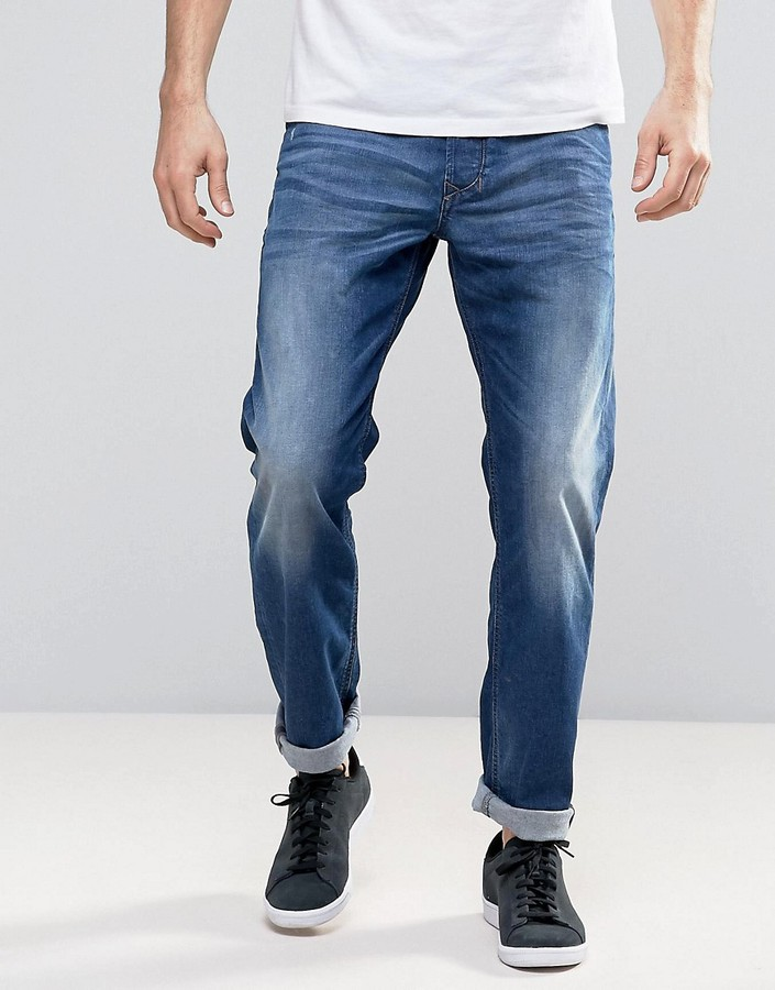 DieselDiesel Larkee - Beex Regular Taper Jeans 084CV Mid Wash