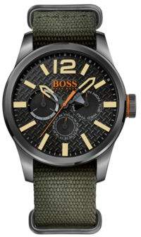 HUGO BOSS Nylon Strap Watch 1513312 One Size Assorted-Pre-Pack