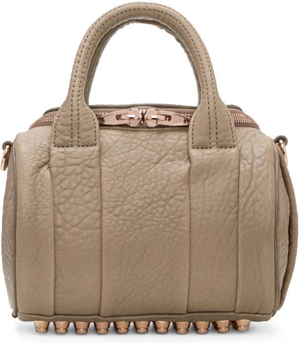 Alexander Wang Taupe Mini Rockie Bag