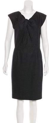 Jason Wu Plaid Knee-Length Dress