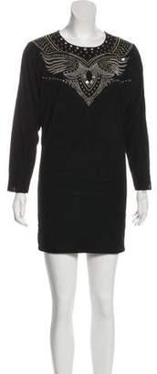Isabel Marant Studded Suede Dress